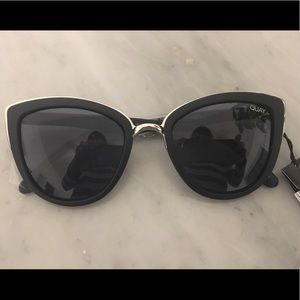 Quay Australia My Girl Sunglasses in Black/Smoke